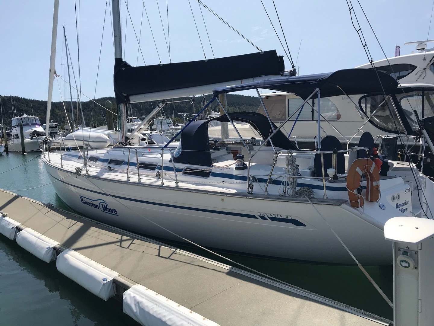 Bavaria 44 - Blue water equipped image 17