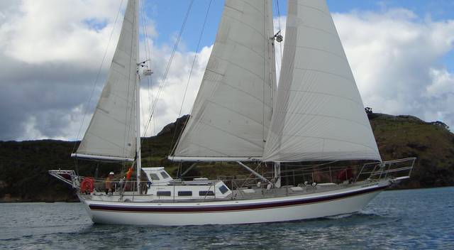 Endurance 44 Steel Pilothouse Ketch