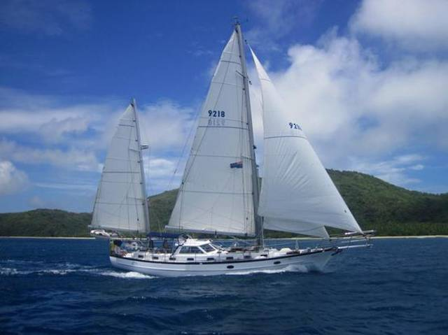 17.5 M Pilothouse Ketch