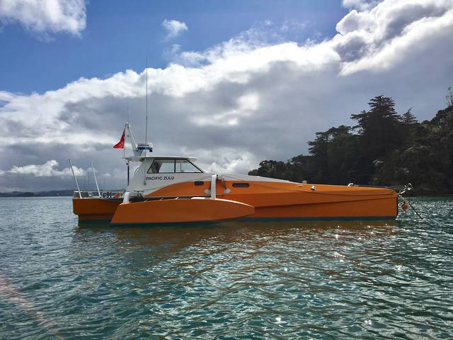 Blakewell-White Long Range Power Trimaran